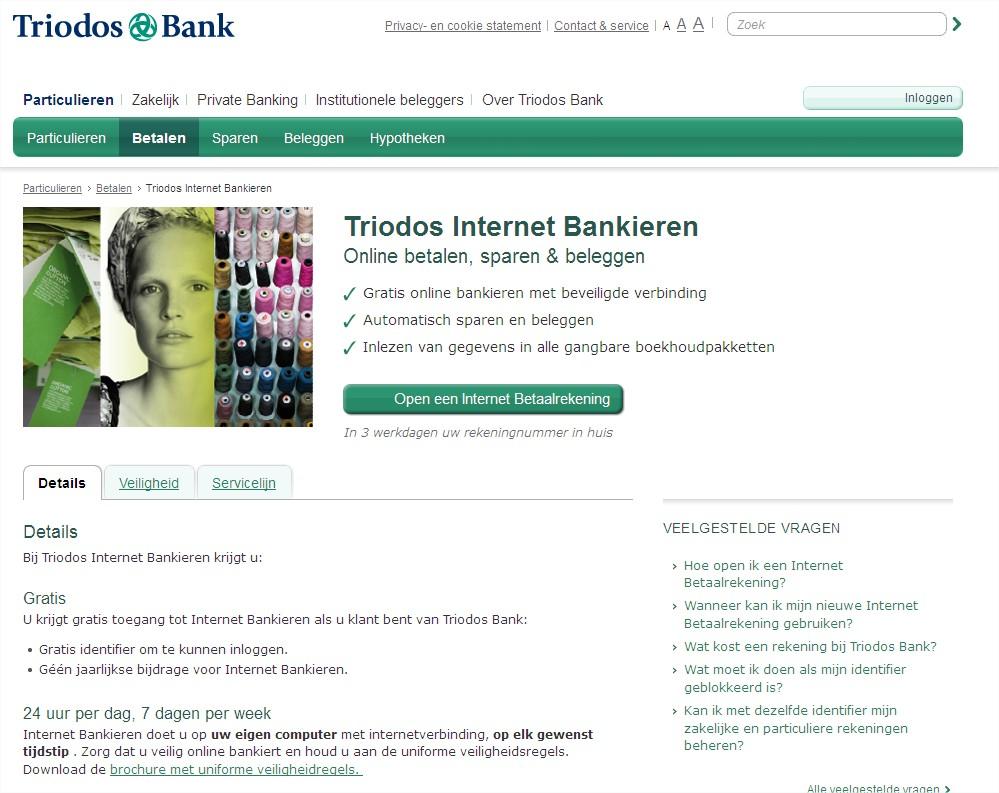 7 stappen framework conversie killers - Triodos bank relevantie